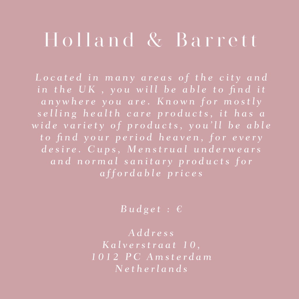 amsterdam holland and barret